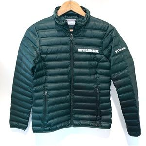 Columbia Michigan State Spartans Down Puffer Coat